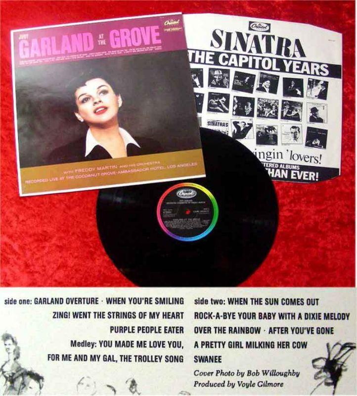 LP Judy Garland: Garland at the Grove
