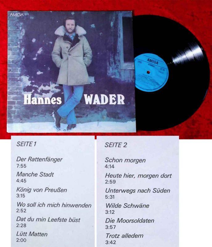 LP Hannes Wader (Amiga 855 635) DDR 1978