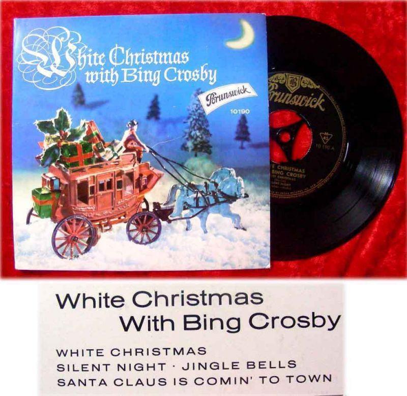 EP Bing Crosby: White Christmas with Bing Crosby (Brunswick 10 190) D 1964