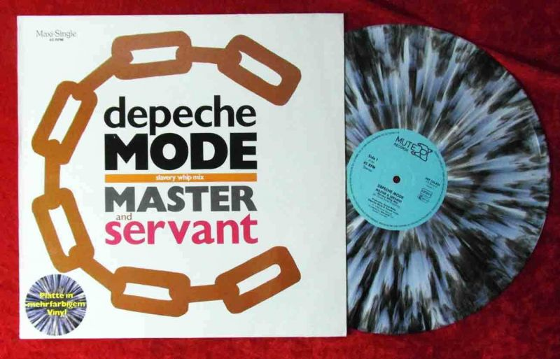 Maxi Depeche Mode: Master and Servant (Coloured Marbled Vinyl) D 1984
