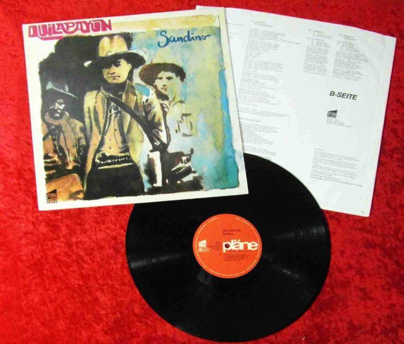 LP Quilapayun: Sandino (Pläne 88 339 G) D 1983