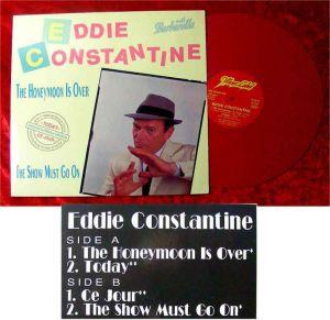 Maxi Eddie Constantine: The Honeymoon Is Over