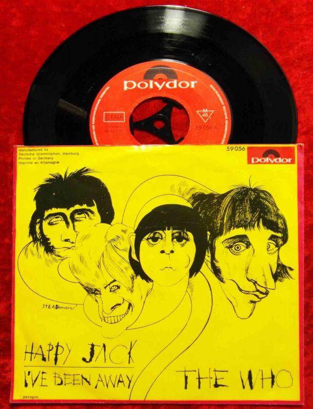 Single Who: Happy Jack (Polydor 59 056) D 1967 0