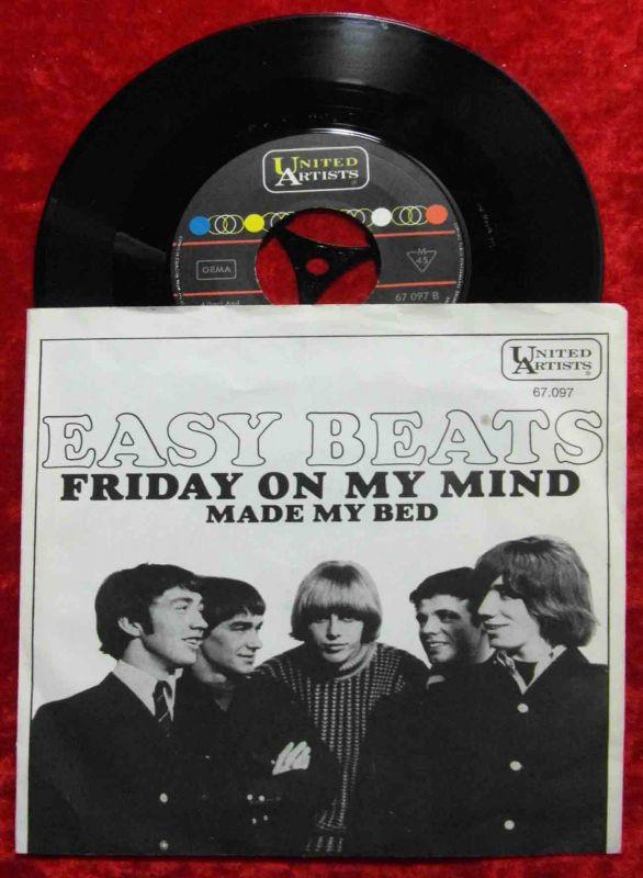 Single Easybeats: Friday On My Mind (United Artists 67 097) D 1967 0