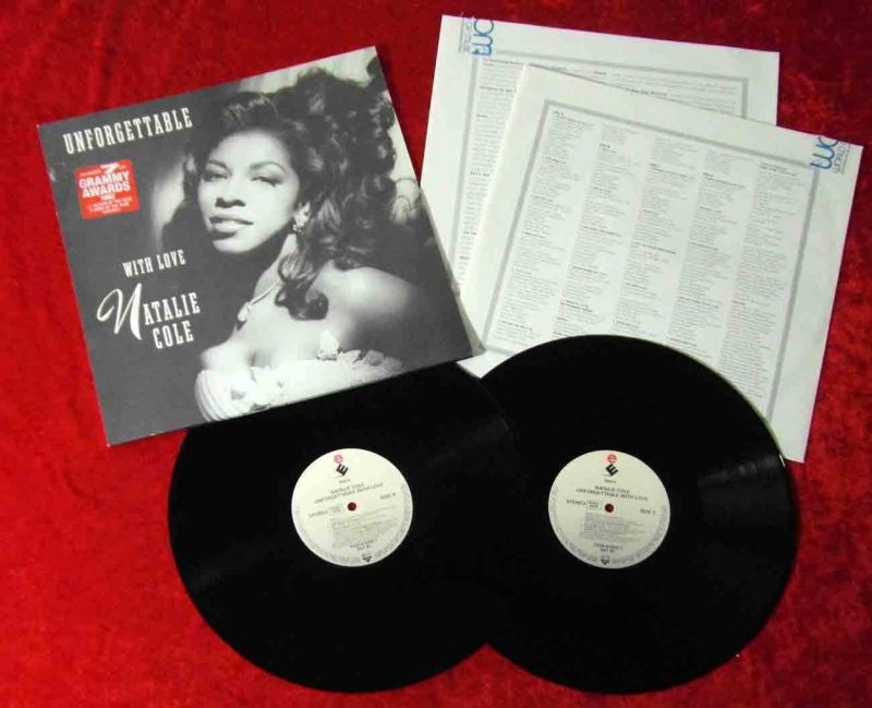 2LP Natalie Cole: Unforgettable (Elektra 7559-61049-1) D 1991