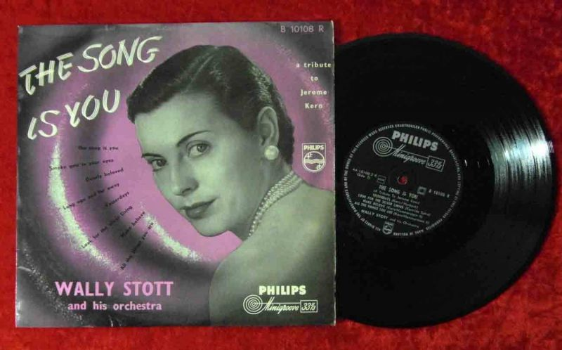 25cm LP Wally Stott: The Song Is You (Philips B 10108 R) NL