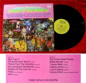 LP Sounds of the Universe Science Fiction & Action Hits