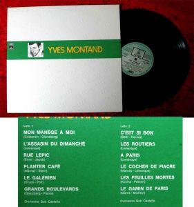 LP Yves Montand: I Maestri (EMI Odeon 3C 054-90514) Italien