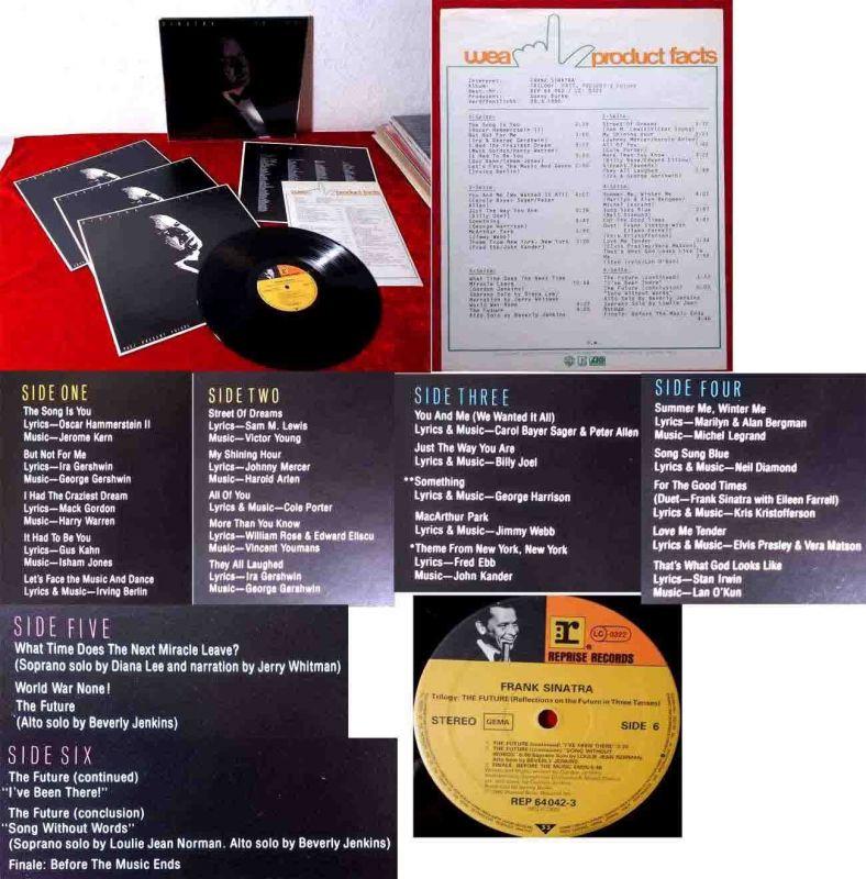 3LP Frank Sinatra: Trilogy (Reprise REP 64 042) mit PR Facts  D 1980