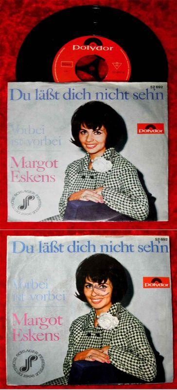 Single Margot Eskens: Du läßt dich nicht sehn (Polydor 52 692) D 1966