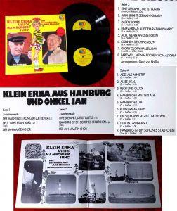 2LP Jan Anderson & Addi Münster: Klein Erna und´n Hamborger Jung (Musikland) D