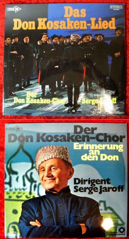 2LP Don Kosaken Chor Serge Jaroff: Das Don Kosaken Lied / Erinnerung an den Don