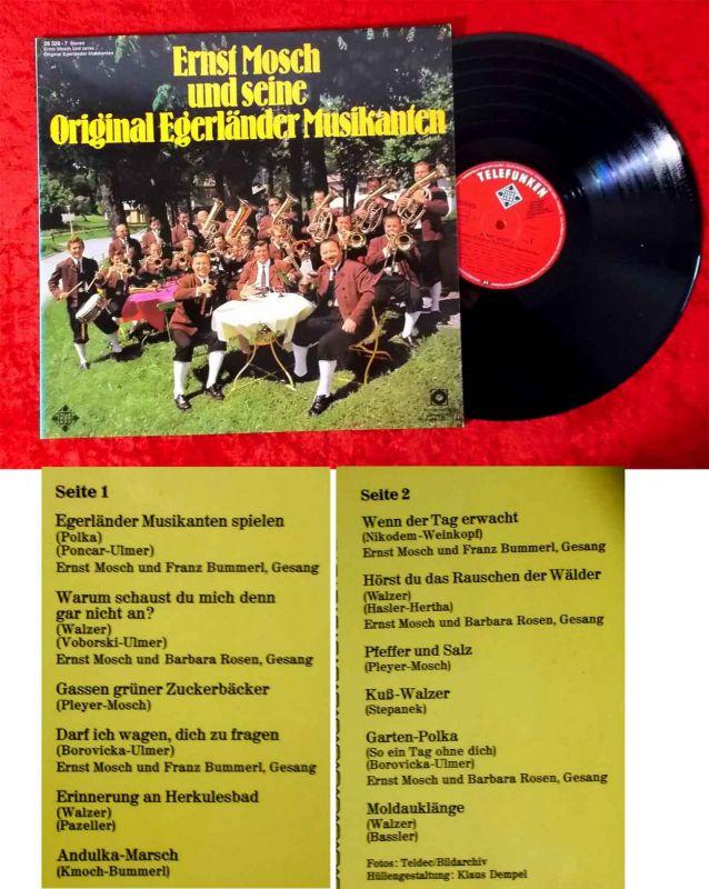 LP Ernst Mosch & seine Original Egerländer Musikanten (Telefunken 28 326-7) Club