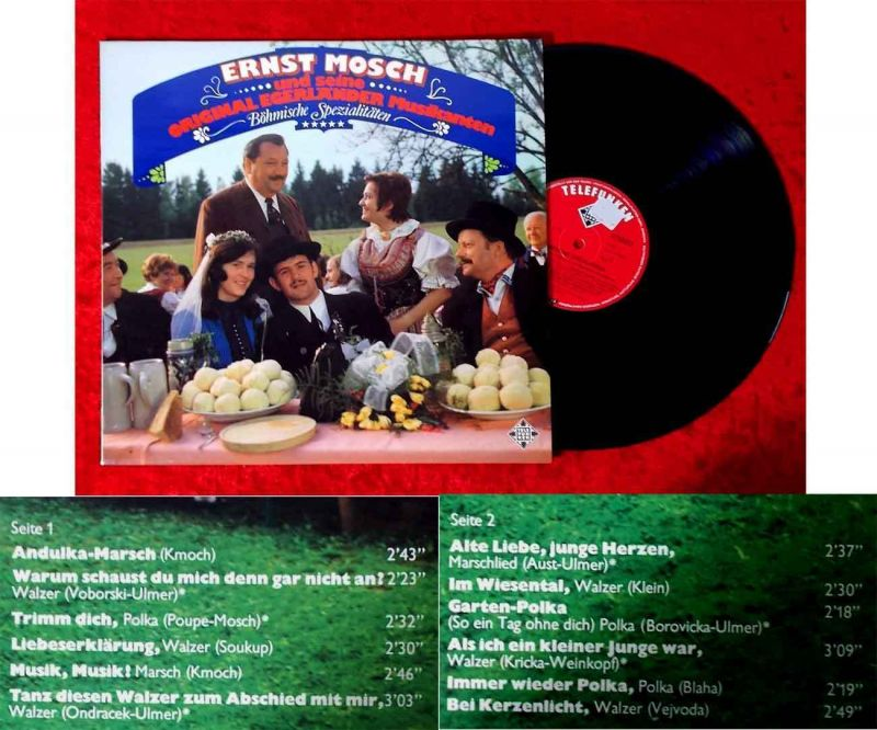 LP Ernst Mosch & Original Egerländer Musikanten: Böhmische Spezialitäten Muster