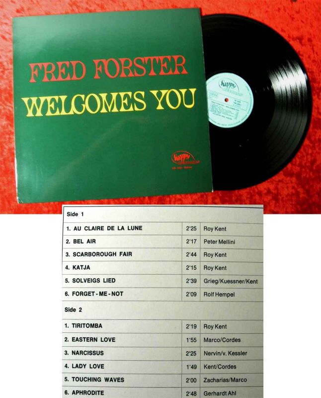 LP Fred Forster: Welcomes You (Happy HR 2201) D