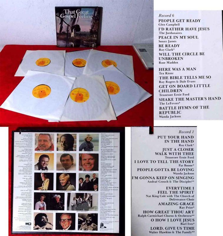 6LP Box That Great Gospel Feeling (Capitol SLFR 8089) US 1977