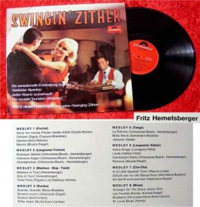 LP Fritz Hemetsberger & seine Swinging Zither Swingin Z