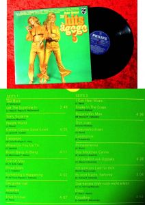 LP Peter Covent: 28 Hits á Gogo 5 (Philips 844 379 PY) D 1969