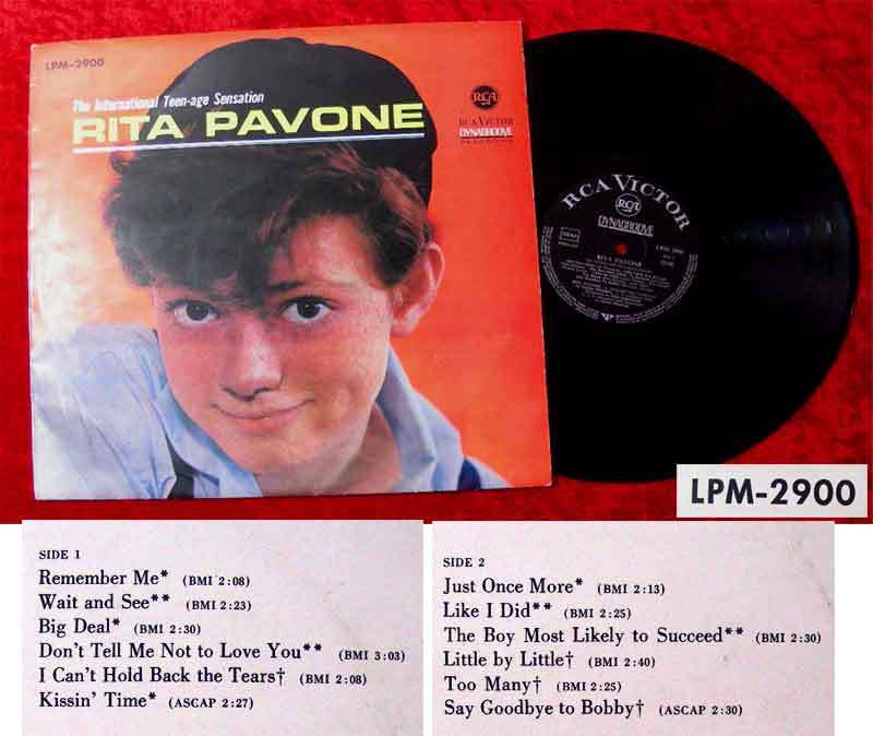 LP Rita Pavone: International Teenage Sensation 1964