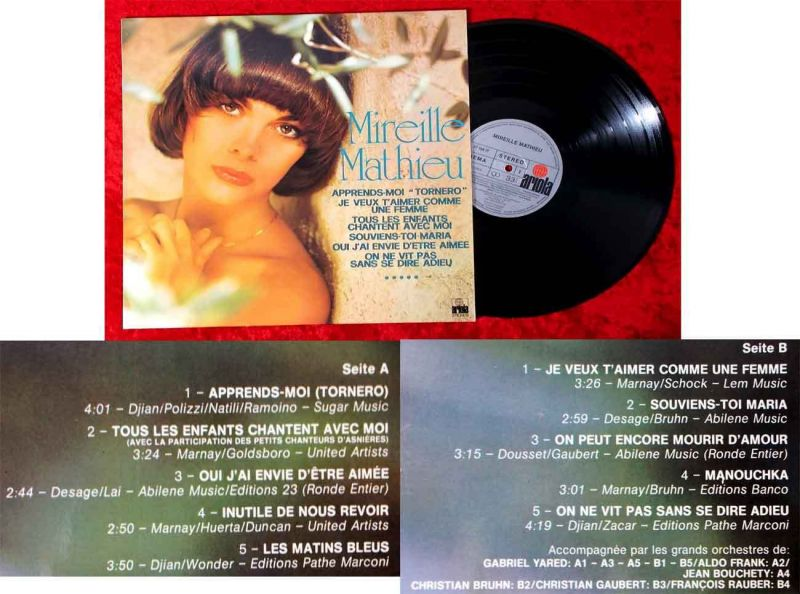 LP Mireille Mathieu (Ariola 27 108 IT) D