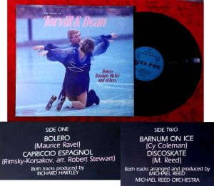 Maxi Music of Torvill & Dean: Bolero / Barnum on Ice (Zyx 5128) D 1983