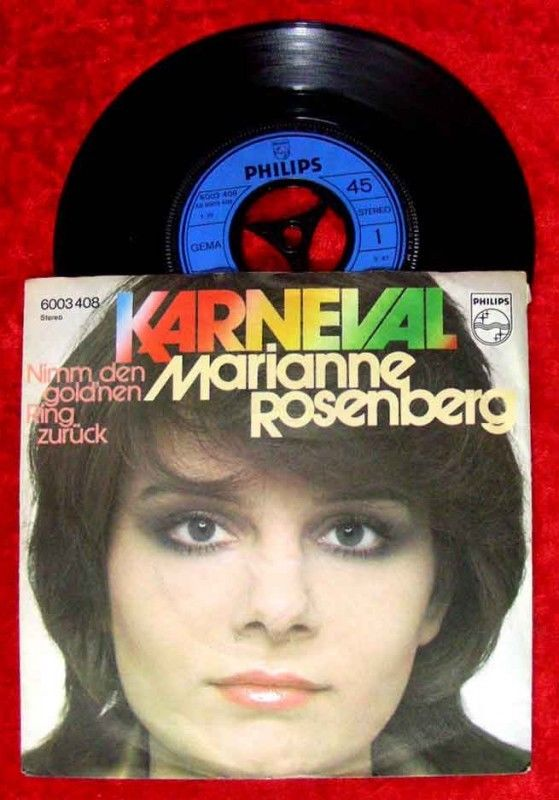 Single Marianne Rosenberg Karneval
