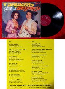 LP Dagmar & Siegfried: Du hast gelacht (Amiga 855 218) DDR 1971