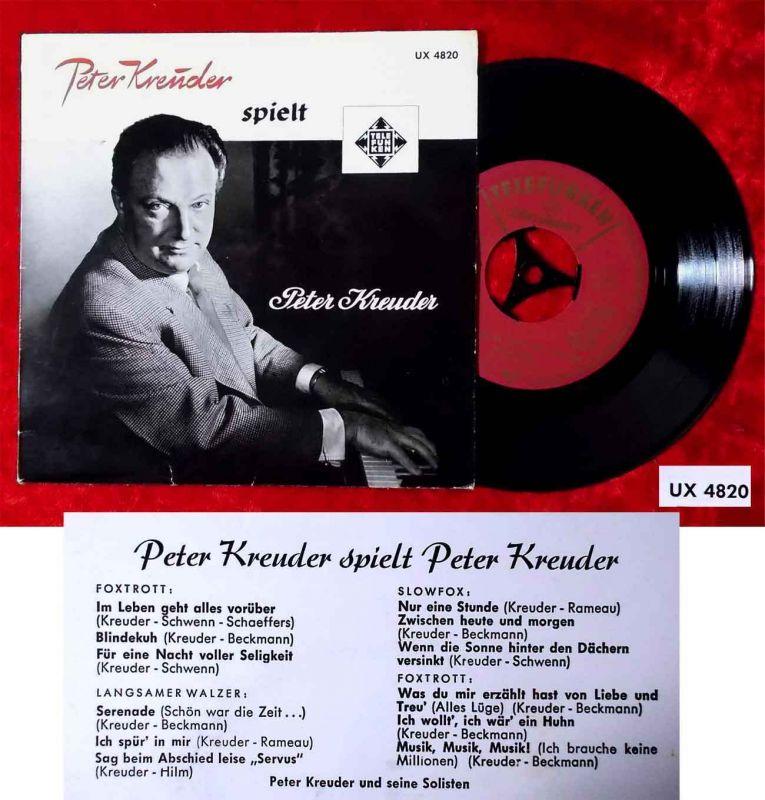EP Peter Kreuder spielt Peter Kreuder (Telefunken UX 4820) D