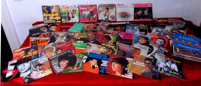 Mehr als 160 Picture Cover Pop Oldies Schlager meist 1950er -1970er Jahre -