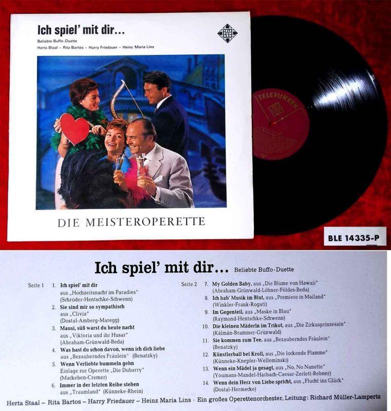 LP Ich spiel´ mit dir... (Telefunken SLE 14 335 P) D
