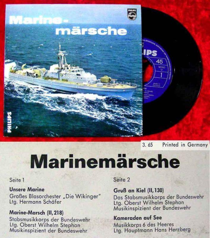 EP Marinemärsche (Philips 423 516 PE) D 1965