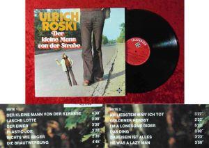 LP Ulrich Roski: Der kleine Mann von der Straße (Telefunken 621169) D 1974