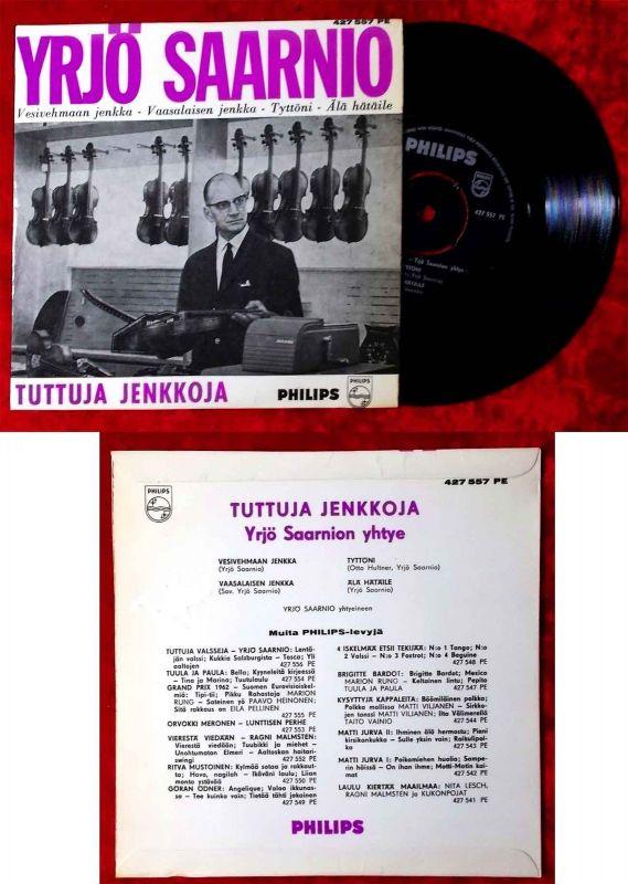 EP Yrjö Saarnio - Tuttuja Jenkkoja (Philips 427 557 PE) Finnland