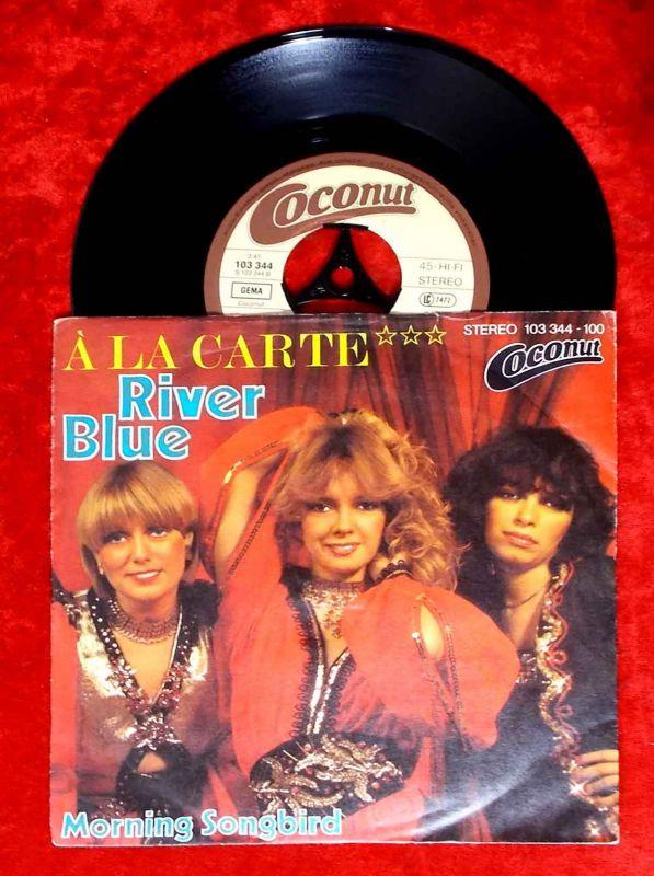 Single A La Carte: River Blue (Coconut 103 344-100) D 1981