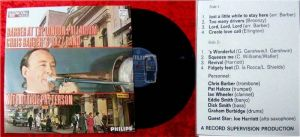 LP Chris Barber at London Palladium w/Ottilie Patterson