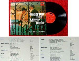 LP Fritz Schulz-Reichel: In der Bar um Mitternacht (Polydor 237 118 Stereo) D 65
