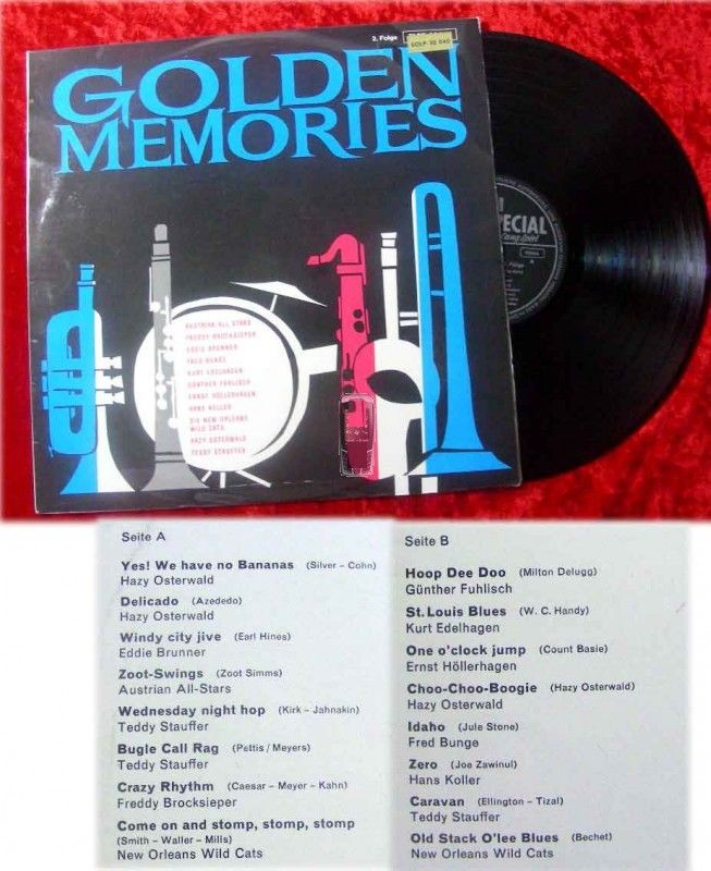 LP Golden Memories - Kurt Edelhagen Eddie Brunner...2