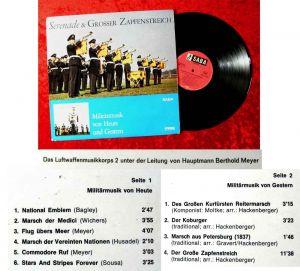 LP Serenade und Großer Zapfenstreich  (Saba SB 15 076 ST) D