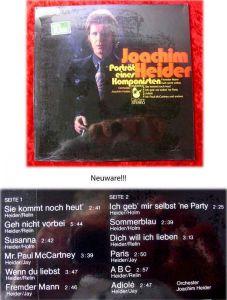 LP Joachim Heider: Porträt eines Komponisten (Hansa 85 854) Neuware OVP!!!