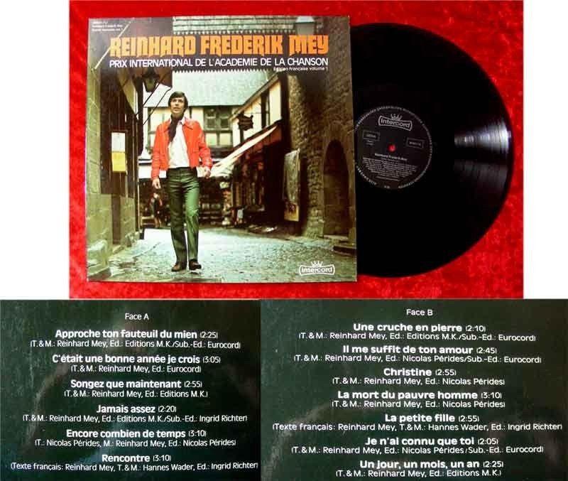 LP Reinhard Frederic Mey Prix International de l`Academ
