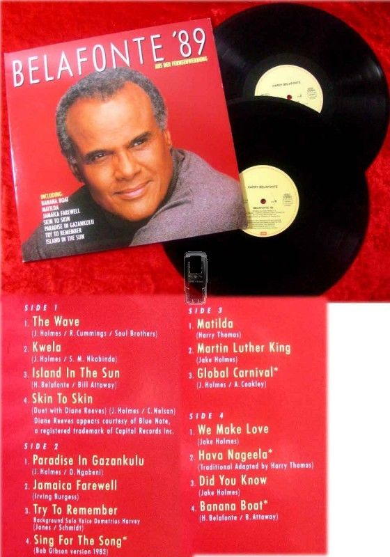 2LP Harry Belafonte: Belafonte '89
