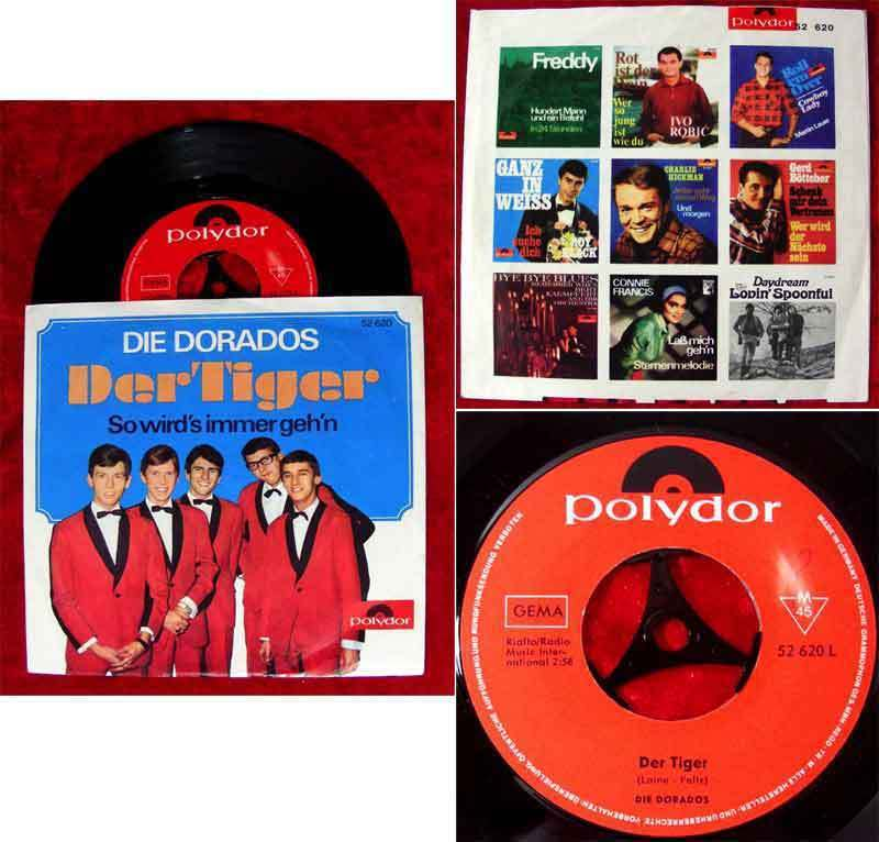 Single Dorados: Der Tiger (Polydor 52 620) D