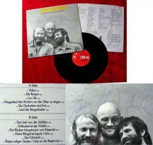 LP Liederjan: Unsere Klingel ist kaputt (Signiert)