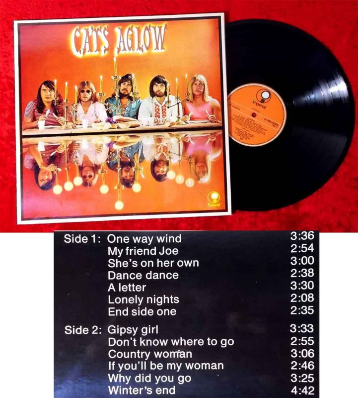 LP Cats: Aglow (Imperial 5C 056-24 500) NL 1973