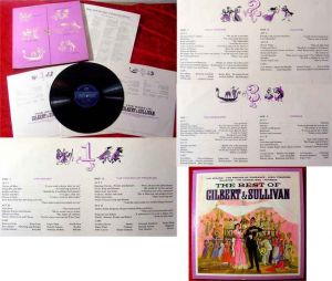 3LP Box The best of Gilbert & Sullivan Reader´s Digest