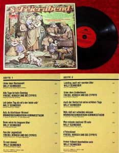 LP ´s Feierabend Friedel Hensch & die Cyprys