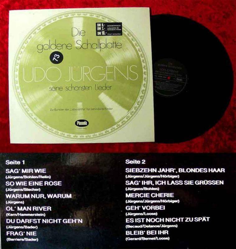 Lp Udo Jürgens Die Goldene Schallplatte Phonola Ti 3330 Stereo D
