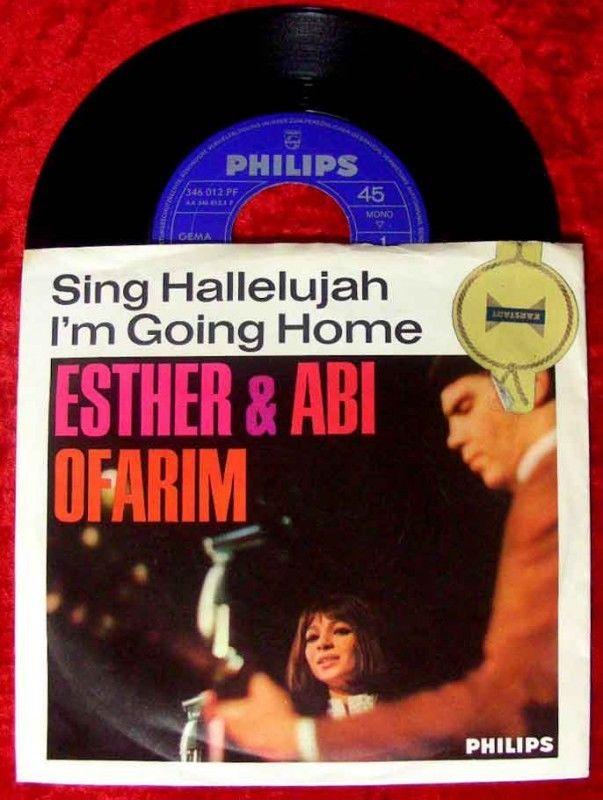 Single Esther & Abi Ofarim Sing Hallelujah