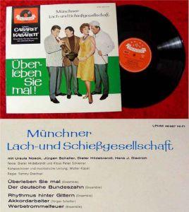 LP Münchner Lach-&Schießgesellschaft: Überleben Sie mal