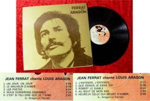 LP Jean Ferrat: Ferrat Chante Aragon
